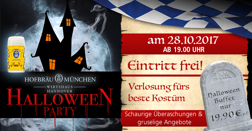 Halloween Party Hannover 2017