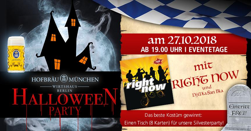 Halloween Party mit right now