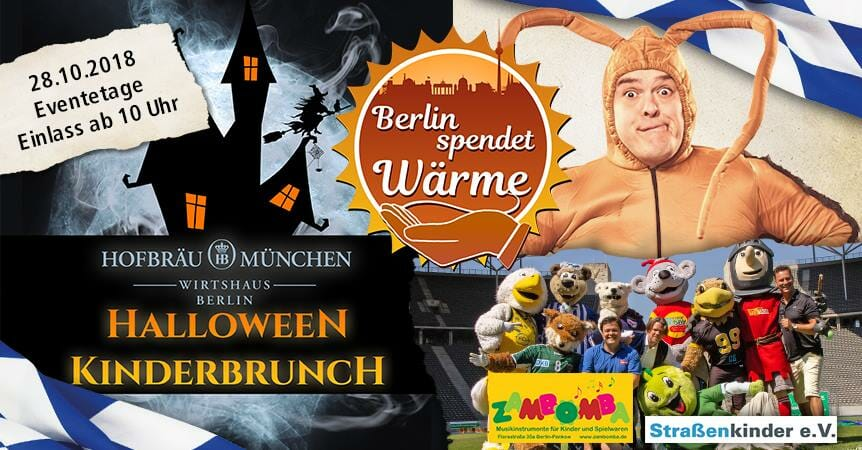 Halloween Kinderbrunch 2018 in Berlin