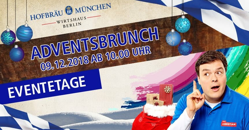 Adventsbrunch mit Christian Bahrmann