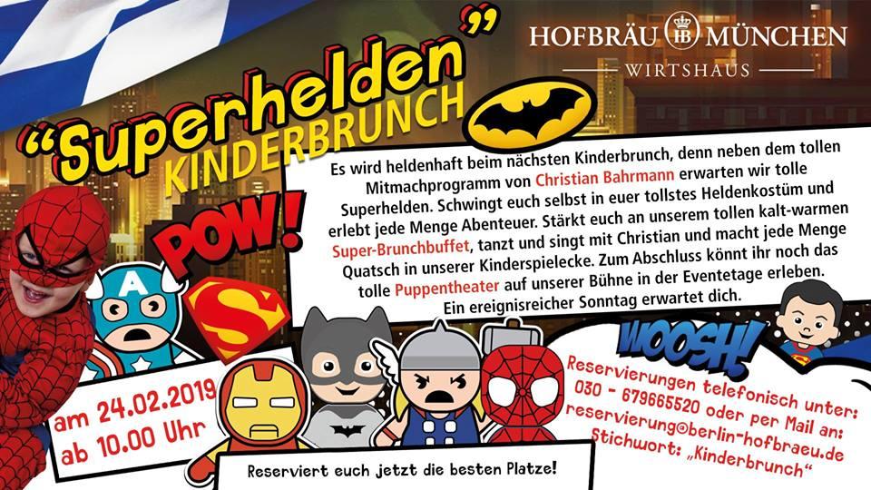Superhelden-Brunch mit Christian Bahrmann