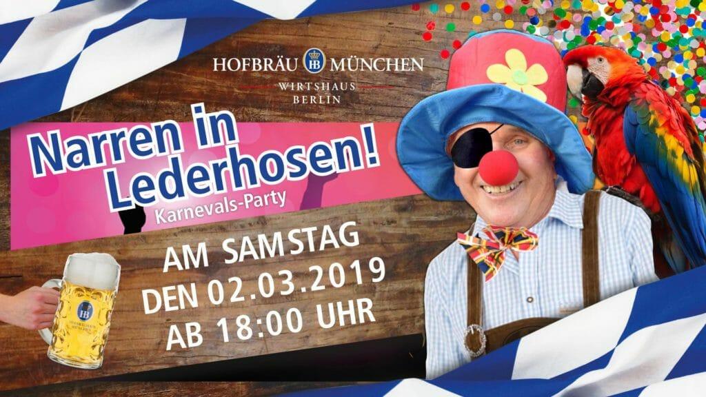 Karnevalsparty Berlin 2019