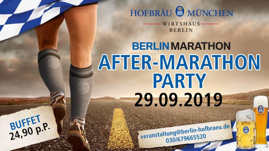 Berlin Marathon Afterparty 2019