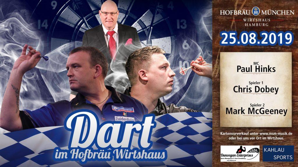 Darts Chris Dobey VS Mark McGreeney