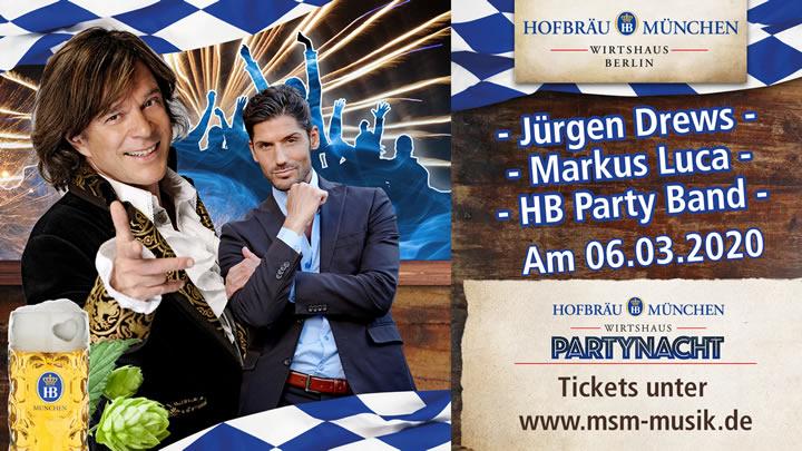 Imprezowa noc z Jürgenem Drewsem 2020
