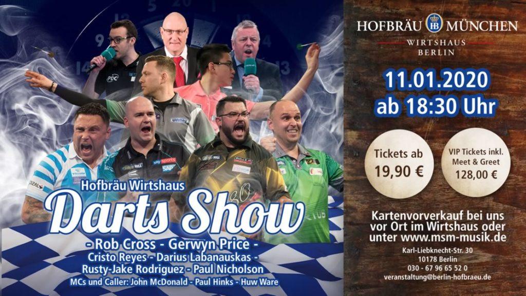 Darts Show Berlin