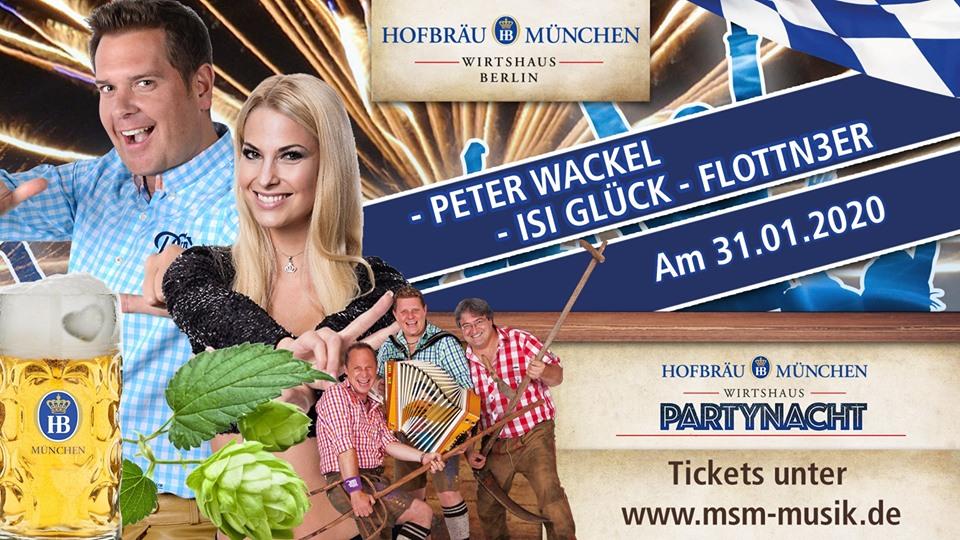 Imprezowa noc z Peterem Wackelem Isi Glück i Flottn3erem