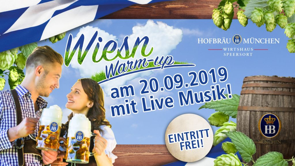 Wiesn Warm-up Speersort 2019