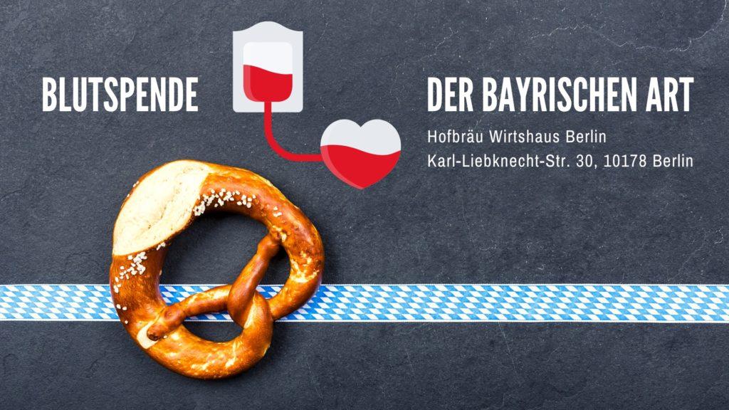 Blutspende der bayrischen Art