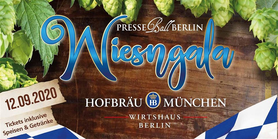 Presseball Berlin Wiesngala 2020