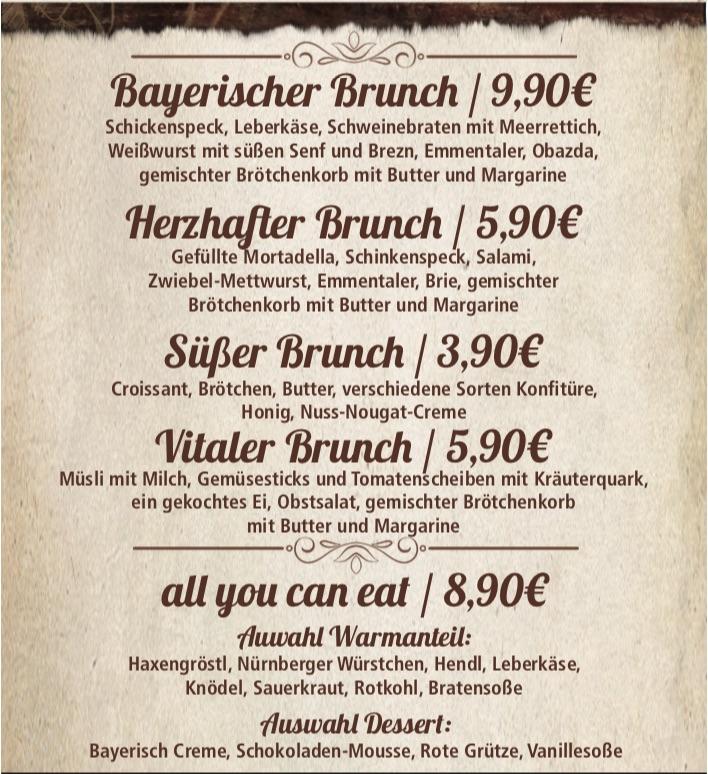 Bayerischer Brunch - Berlin