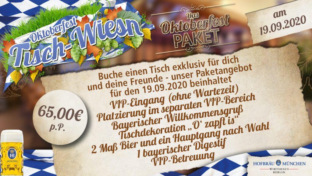 Oktoberfest 2020 Berlin