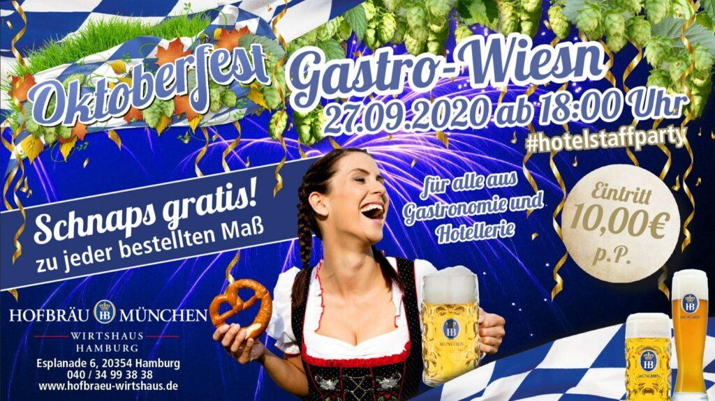 Gastro-Wiesn - die Gastroparty in Hamburg