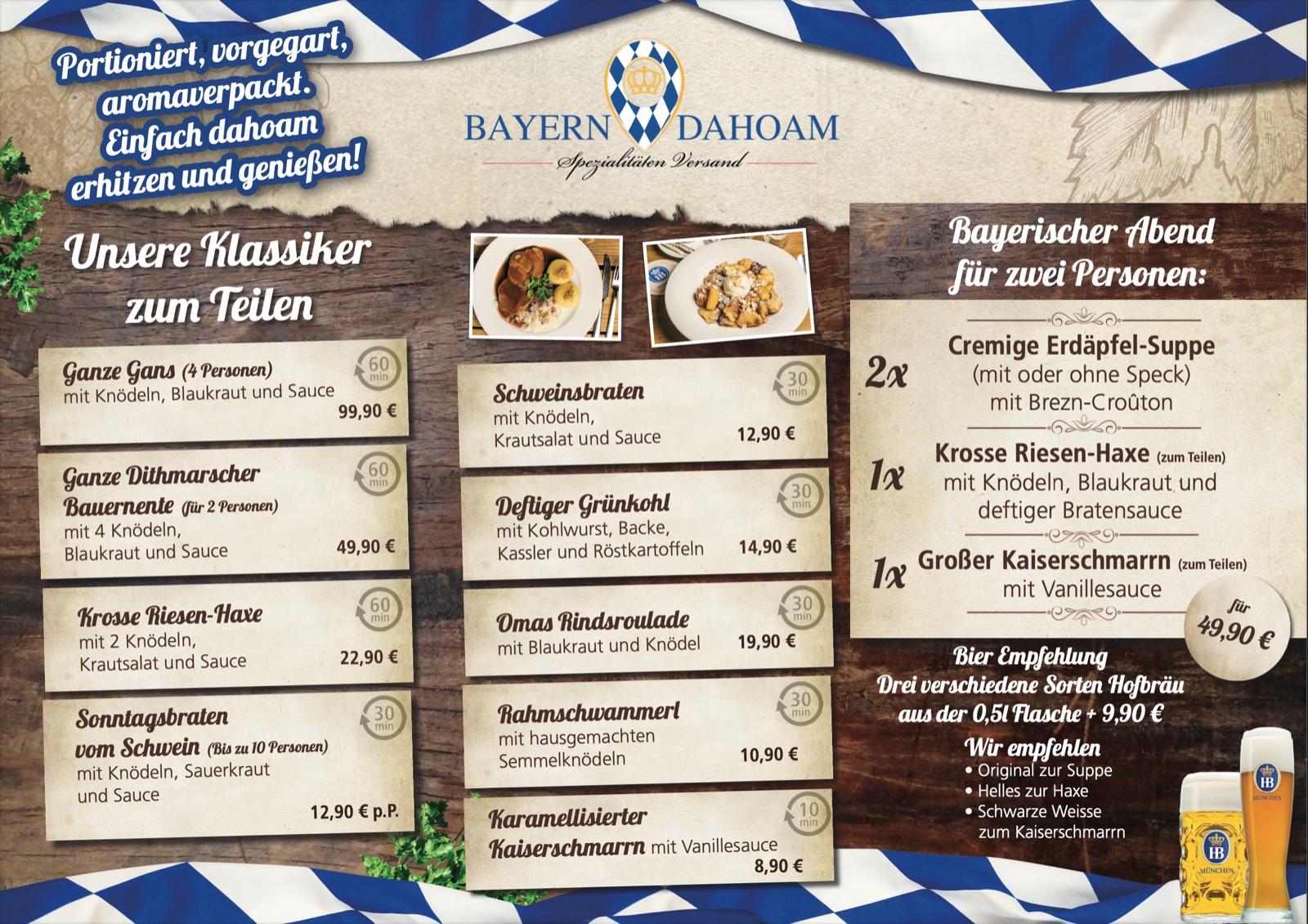 Bayern Dahoam Kochbox