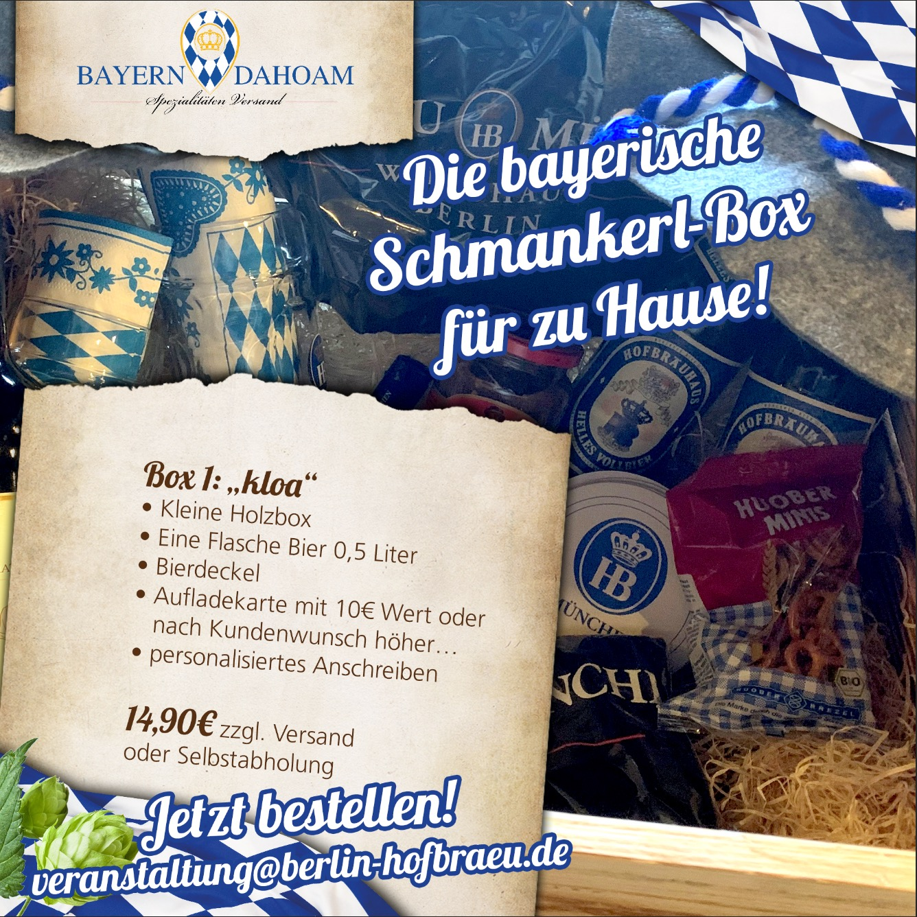 Bayern Dahoam delicatessebox