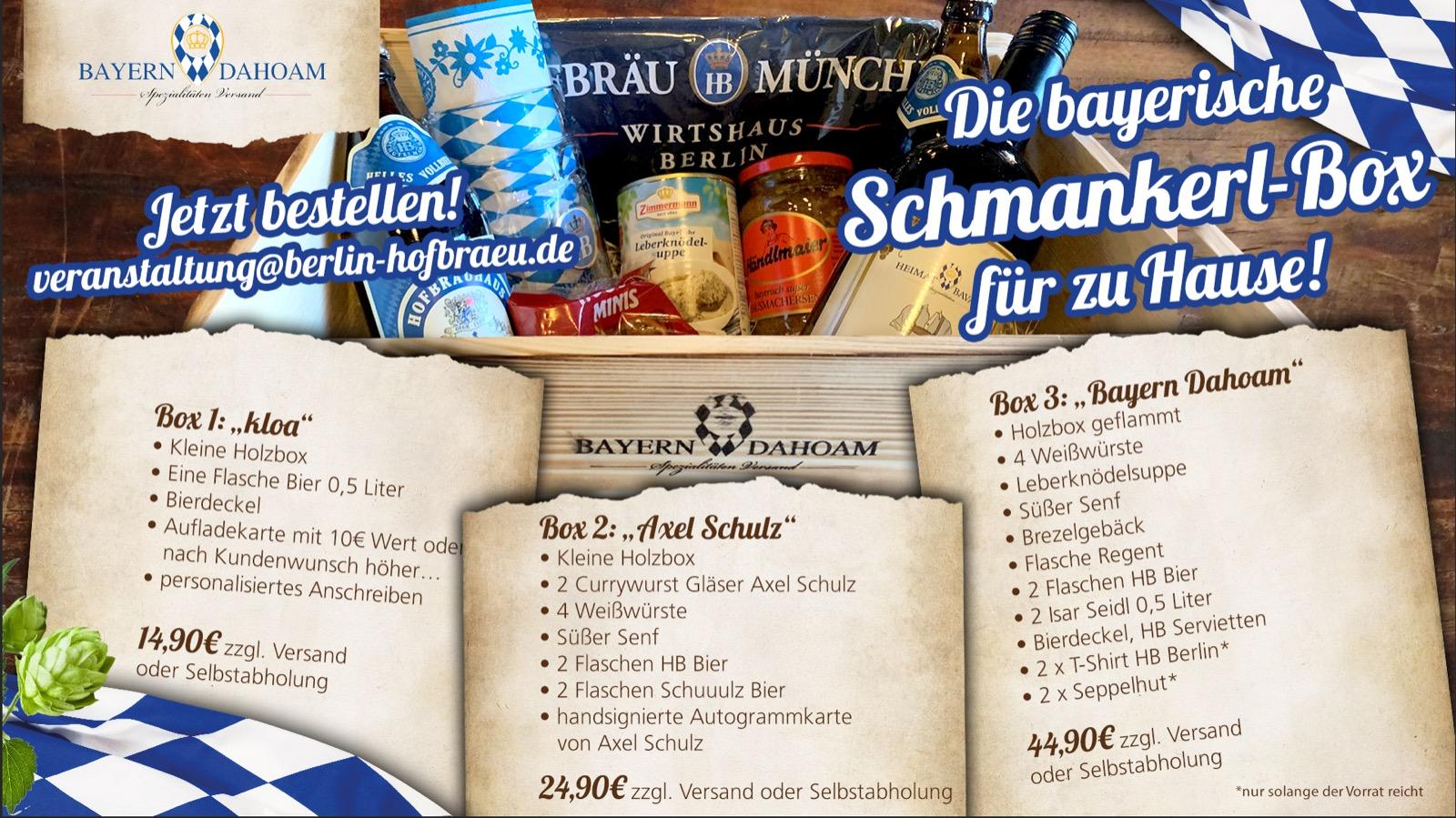 Bayern Dahoam delicacy box