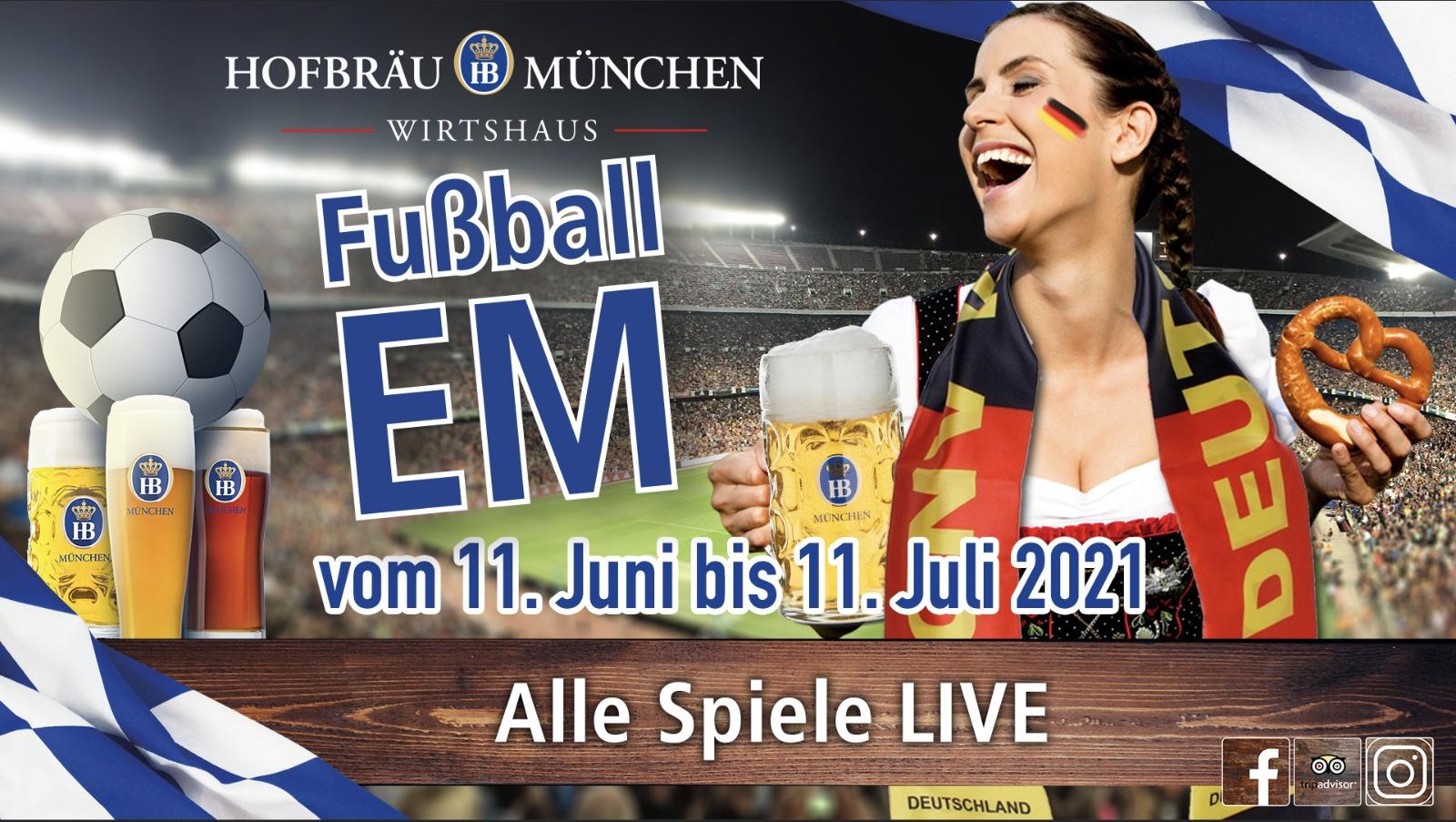 Fussball EM 2021 in Hamburg