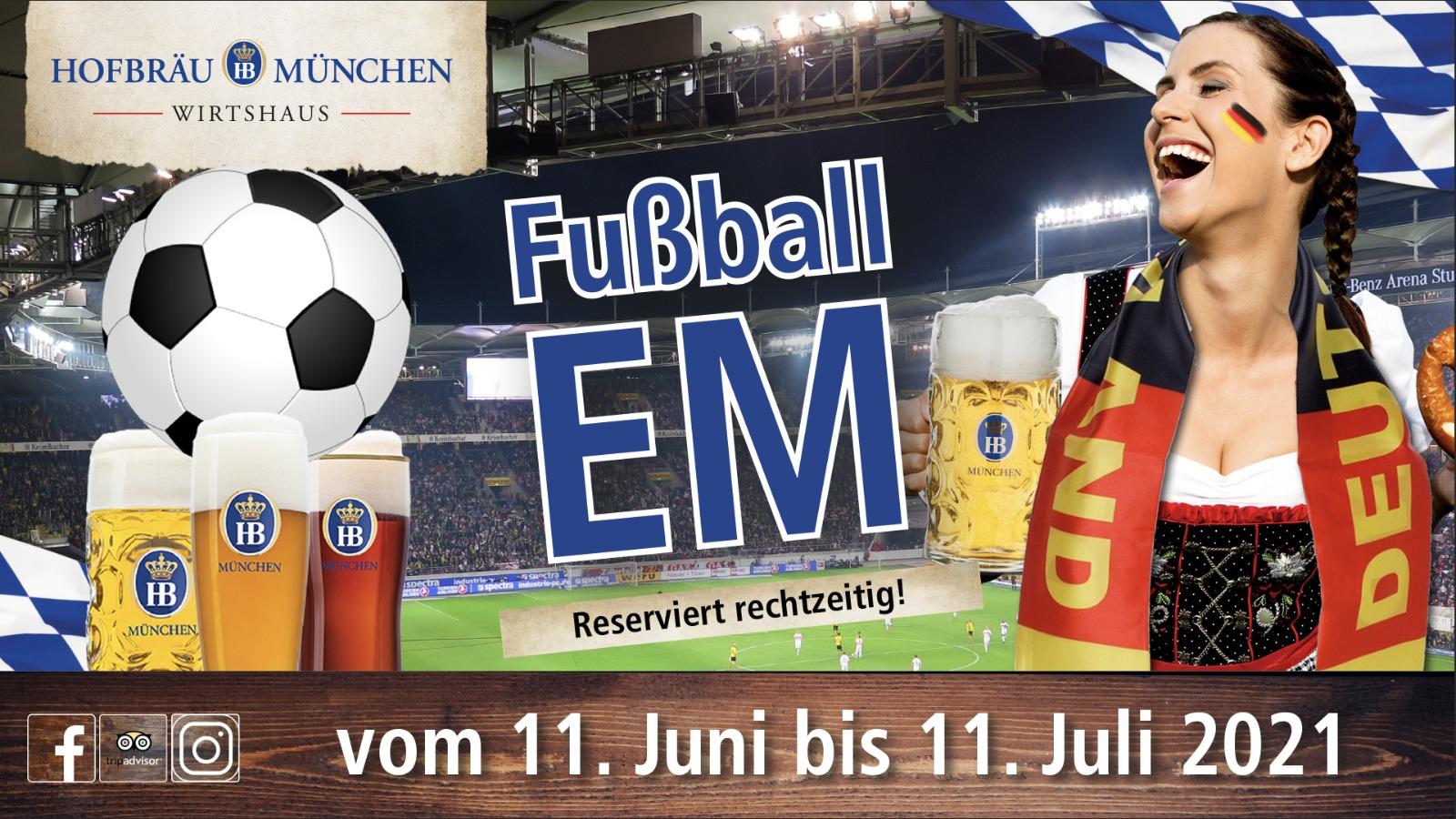 Fussball EM 2021 in Berlin
