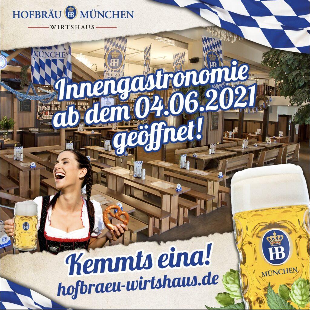 Hofbräu Wirtshaus - Hamburgas - Berlynas