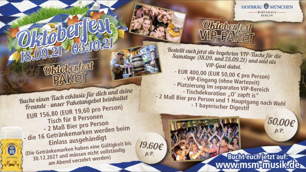 Oktoberfest 2021 Berlin